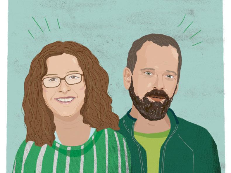 Annik & Christoph, die treibenden Kräfte